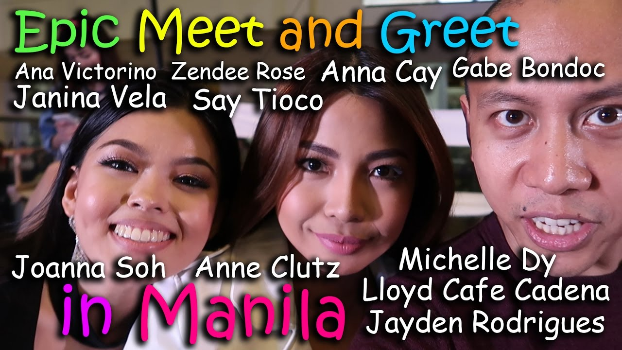 Most Epic Meet Amp Greet In Manila Feat Pinoy Youtubers