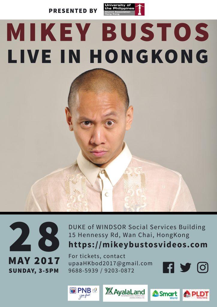 Mikey Bustos Live in Hongkong