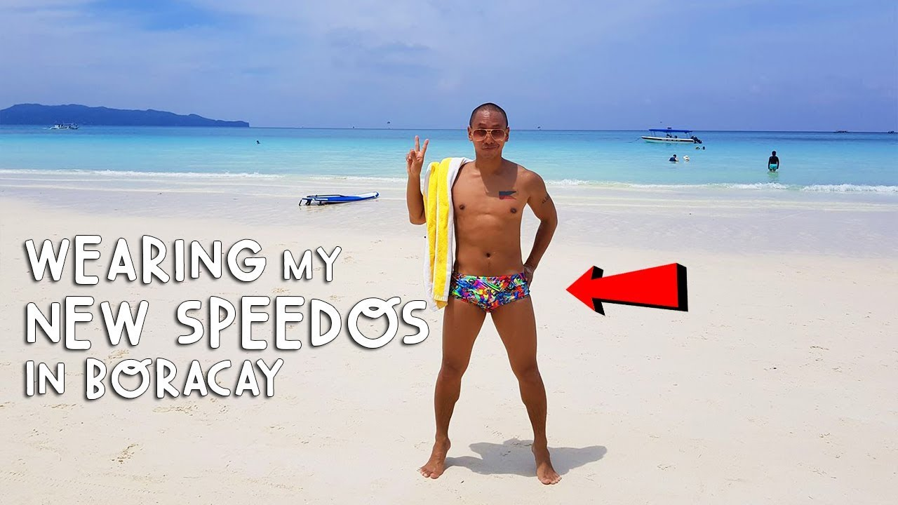 wearing my new speedos in boracay mikey bustos videos